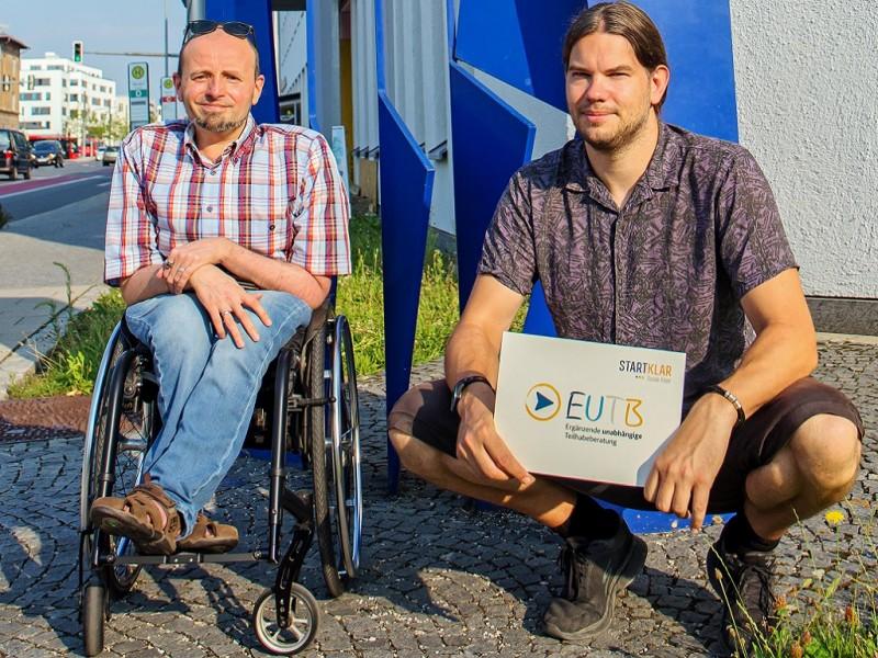 Marco Trapp und Nils Vater