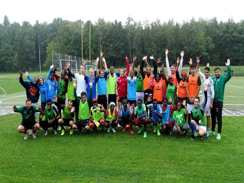 Teilnehmer Fußballcamp