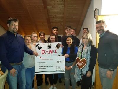 ZMV Dienstleistung spendet für Wohngruppe