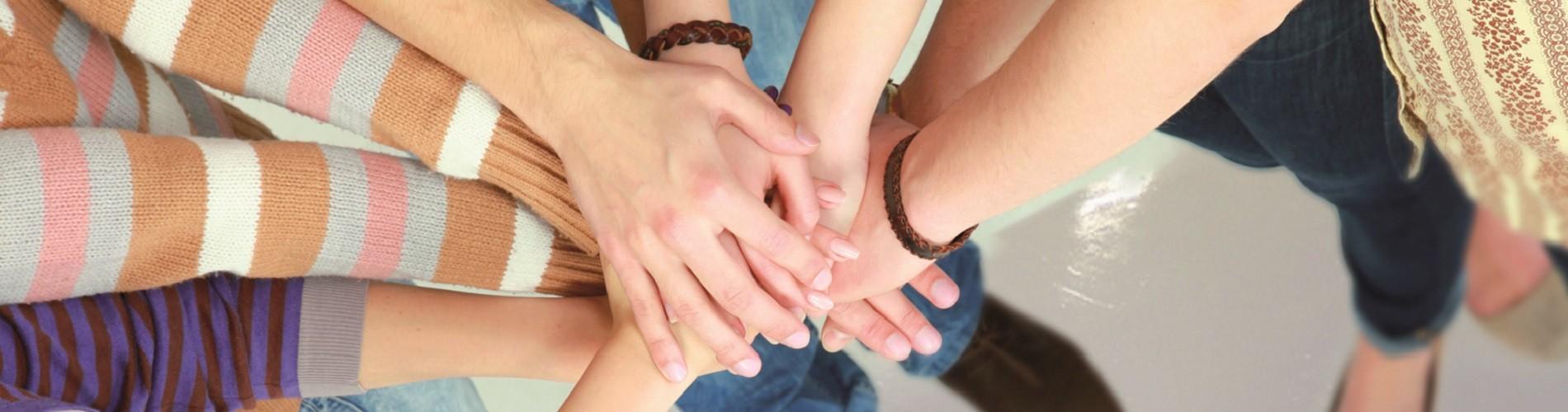 Hände Gruppe