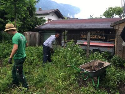 Garten Kreativ hilft Flüchtlingsfamilien