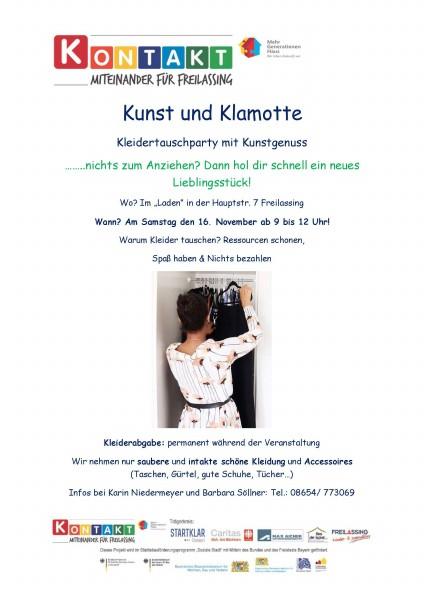 Kunst & Klamotte