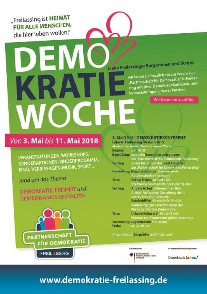 Plakat Demokratiewoche
