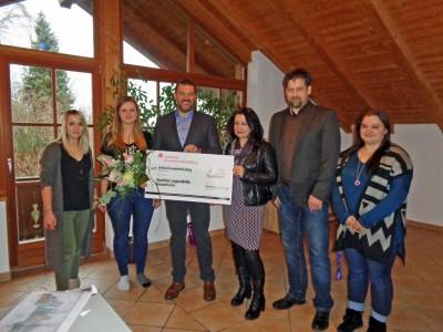 Spende für Wohngruppe Oberkaltbrunn