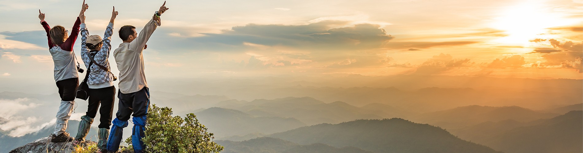 Sonnenuntergang Berge