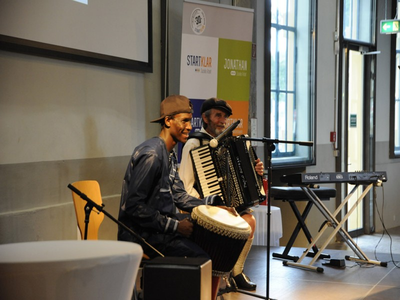 Musiktreff mit Seydou